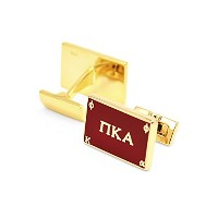 Pi Kappa Alpha Cuff Links (金メッキ)