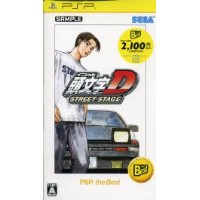 【中古】 頭文字D STREET STAGE PSP the Best /PSP 【中古】afb