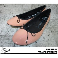 JEFFREY CAMPBELL ASTAIR ジェフリーキャンベル TAUPE PATENT ピンク フラット
