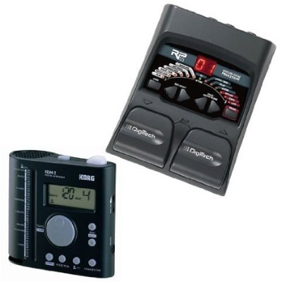 DigiTech (デジテック) RP55 Guitar Multi Effects with Korg (コルグ) KDM2 Audible/Visual Orchestra M