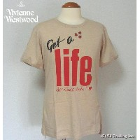 ◆Vivienne Westwood◆ヴィヴィアンウエストウッド★Get a Life Tee World's End Specialゲット ア ライフ Tシャツ by ワ—ルズエンド...