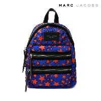 MARC JACOBS(マークジェイコブス) バックパック/リュックサック 『Flocked Stars Printed Biker Mini Backpack』 (470 WEB BLUE...