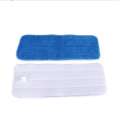 HZjundasi 6pcs Wet&Dry Replacement Microfiber モップ クリーニングパッド Floor Dust パッド for Flat モップ