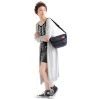 MP Embroidery Casual Messenger Bag XS 【Store Limited】【マンハッタンポーテージ/Manhattan Portage レディス, メンズ ショルダー...