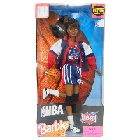 NBA ロケッツ バービー人形 1998 Barbie Collectibles African American レアアイテム レアアイテム レアアイテム