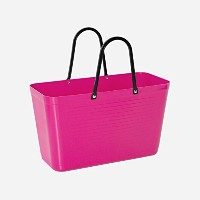 Hinza Reusable Grocery Toteバッグスウェーデンから Big 15 Liters/33# ピンク