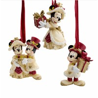 Disney(ディズニー)Minnie and Mickey Mouse Holiday Ornament Setニーとミッキーの飾りセット