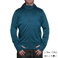 ノースフェイス メンズ アンペア フルジップ パーカー The North Face Men's Ampere Full-Zip Hoodie Depth Green/Asphalt Grey