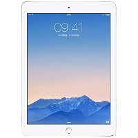 【送料無料】【Apple iPad Air 2 MH322LL/A (128GB Wi-Fi + Cellular Silver) NEWEST VERSION(US Version...