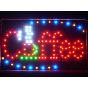 LED看板 サイン 電飾 看板 カフェ バー ADV PRO led009-r Coffee Cup Cafe LED Neon Business Light Sign