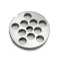 TSM #8 Carbon Steel 1/2 Meat Grinder Plate by The Sausage Maker