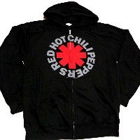 ☆☆☆RED HOT CHILI PEPPERS レッドホットチリペッパーズASTERISK ZIP HOODIE オフィシャル ZIP-UPバンドパーカー【あす楽対応】