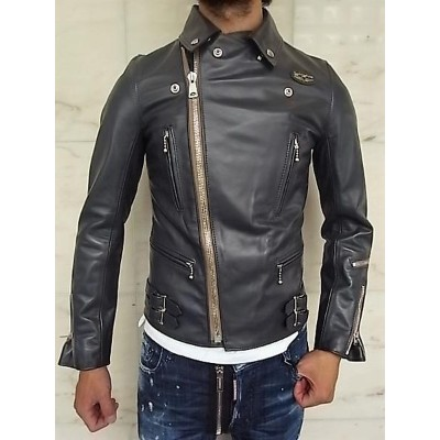 """Lewis Leathers(ルイス レザース)HORSE HIDE LEATHER【No.391T LIGHTNING JACKET】""""Tight Fit""""Double Rider's..."""