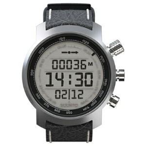 スント 腕時計 Suunto Elementum Terra Black Leather