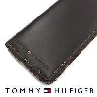 TOMMY HILFIGER トミーヒルフィガー 31TL13X015 ラウンドファスナー長財布 ブラウン トミーヒルフィガー 財布 卒業祝い 入学祝い  プレゼント ギフト
