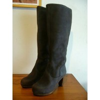 【SALE】 Sanita サニタ WOOD-ETENIA PLATEAU BOOT 4314208 *Dark brown* 【送料無料】