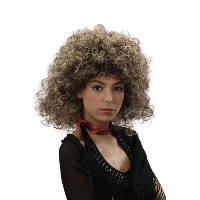 Bristol Novelty Brown/Blonde Big Hair Wig 2 Tone 80s Wigs - Women's - One Size