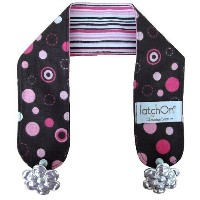 LatchON Pink Cotton Nursing Blanket Strap by LatchOn