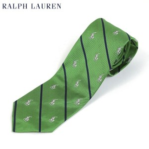 POLO by Ralph Lauren Necktie US (GREEN) ポロ ラルフローレン ネクタイ