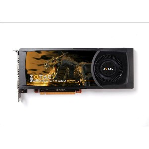ZOTAC GeForce GTX 580 AMP! Edition 1536MB GDDR5 ZT-50102-10P【中古】【全品送料無料セール中!】
