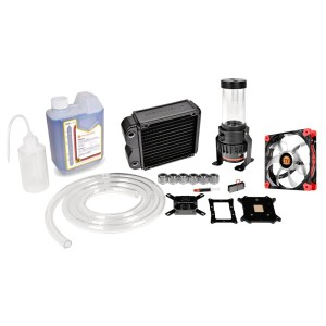 Thermaltake CL-W072-CU00BL-A Pacific RL140 D5 Water Cooling Kit Pacific RL140ラジエーター同封モデル