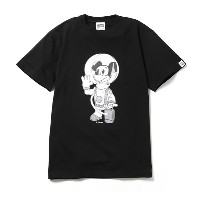 BILLIONAIRE BOYS CLUB MICKEY MOUSE ASTRONAUT T-SHIRT #1 (JP EXCLUSIVE)ビリオネアボーイズクラブ Disney Tシャツ Black