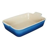 Le Creuset Heritage Stoneware 10–1/ 2-by-7-inch Rectangular Dish , Marseille