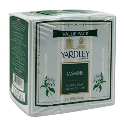 Yardley London Value Pack Luxury Soap 3x100g Jasmine by Yardley