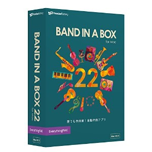 PG Music Band-in-a-Box 22 for Mac EverythingPAK