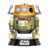 Funko - Figurine Star Wars Rebels - Chopper Droid Pop 10cm - 0889698107716