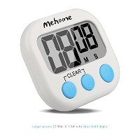 Mehome loud digital kitchen timer Kitchen Timer magnetic kitchen cooking timer (1) by Mehome