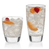 Libbey 16PieceクラシックGlasswareセット、クリア