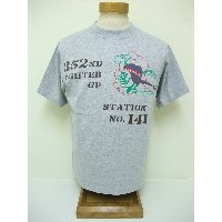 BuzzRickson's[バズリクソンズ] Tシャツ 352nd FIGHTER GROUP (H.GRAY)