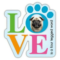 PUG Love【パグ】輸入雑貨・犬グッズ・犬雑貨・パググッズ