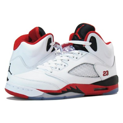 NIKE AIR JORDAN 5 RETRO 【FIRE RED】 ナイキ エア ジョーダン 5 レトロ WHITE/FIRE RED/BLACK 136027-120