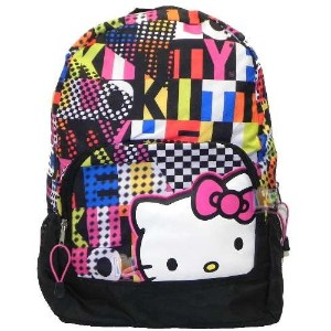 Hello Kitty ハローキティ バックパック Colorblock Backpack