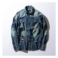 【NUMBER (N)INE DENIM×LOVELESS・GUILD PRIME】MENS COLLABORATION DEN【ギルドプライム/GUILD PRIME メンズ シャツ・ブラウス...