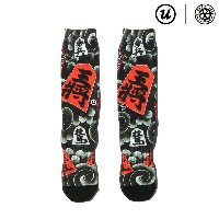 "UBIQ THREE TIDES TATTOO × UBIQ ""IREZUMI"" SOCKS (Syougi) Designed by Horihiro (スリータイズタトゥー ユービック..."