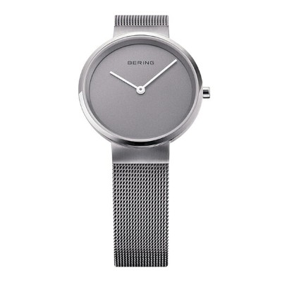 BERING Ladies Classic Curving Mesh(14531-077 チャコールグレー×シルバー)