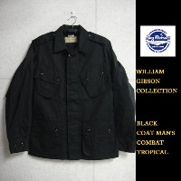 Buzz Rickson's WILLIAM GIBSON COLLECTION ブラックトロピカルコンバットジャケットBLACK COAT MAN'S,COMBAT TROPICAL ...