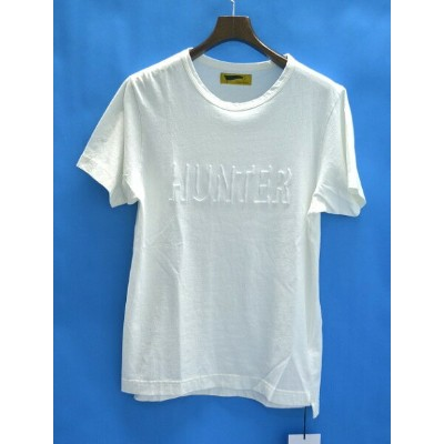 【新品】 HURRAY HURRAY (フレイフレイ) Solid Embroidery T-shirts 半袖Tシャツ TEE 0 WHITE 14AW