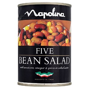 Napolina Five Bean Salad (400g) Napolina 5豆のサラダ( 400グラム)