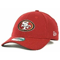 NFL 49ers キャップ/帽子 ニューエラ First Down 9FORTY Structured Adjustable キャップ
