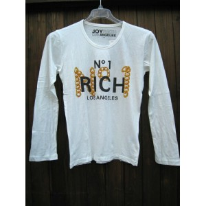 JOYRICH/ジョイリッチ LOSANGELES / CHAINED N1 LONG TEE OFF WHITE