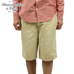 【25%OFFセール 4/21 10:00~4/24 09:59】 アバクロ Abercrombie&Fitch 正規品 メンズ ショートパンツ A&F CLASSIC FIT SHORTS...