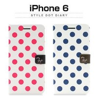 その他 Happymori iPhone6 Style Dot Diary チェリー ds-1823392