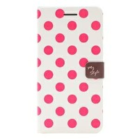 その他 Happymori iPhone6 Plus Style Dot Diary チェリー ds-1823372