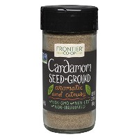 Frontier Natural Products, Cardamom Seed, Ground, 2.11 oz (60 g)