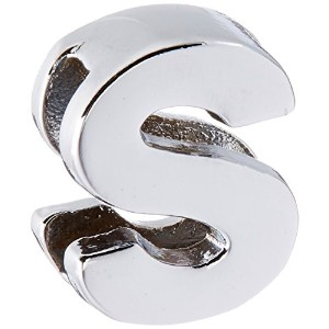 """3/8"""" (10mm) Chrome Plated Charms S 3/8"""" (10mm)"""