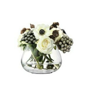 LSA FLOWER TABLE ARRANGEMENT VASE H115mm 【花瓶】 箱入り